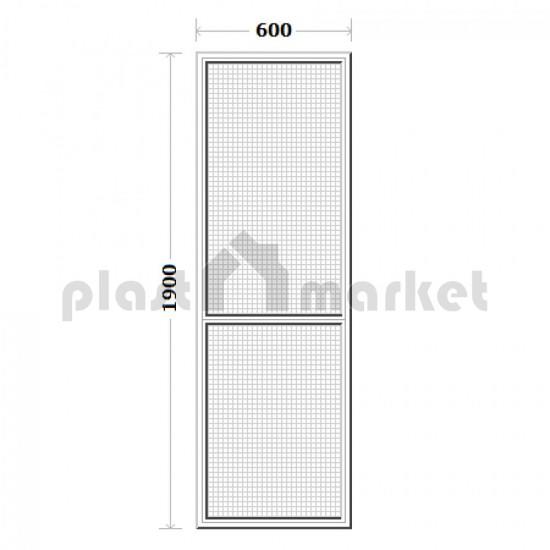 Plase Tantari usa balcon Dimensiuni 600 / 1900 mm